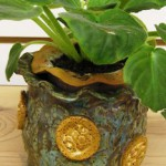 African Violet Pot by Suzanne Kingry