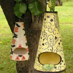 Textured Birdhouses