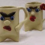 Mr & Mrs Grumpy Cups