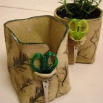 Pressed Herb Pots