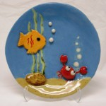 Under the Sea 3-D Art Plate