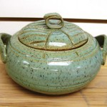 Lidded Casserole by Betty Connolly