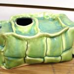 Quilted Vase by Lindsay Philabaun
