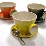 Soup Mugs with Saucers