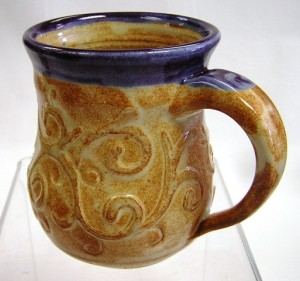 Water-Etched Mug by Joe Butta