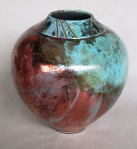 Raku Vase But Not Broken_Regina Swim
