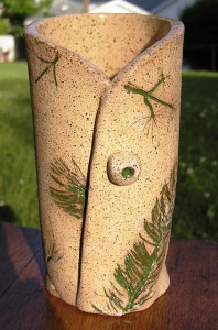 Wrapped Natural Vase